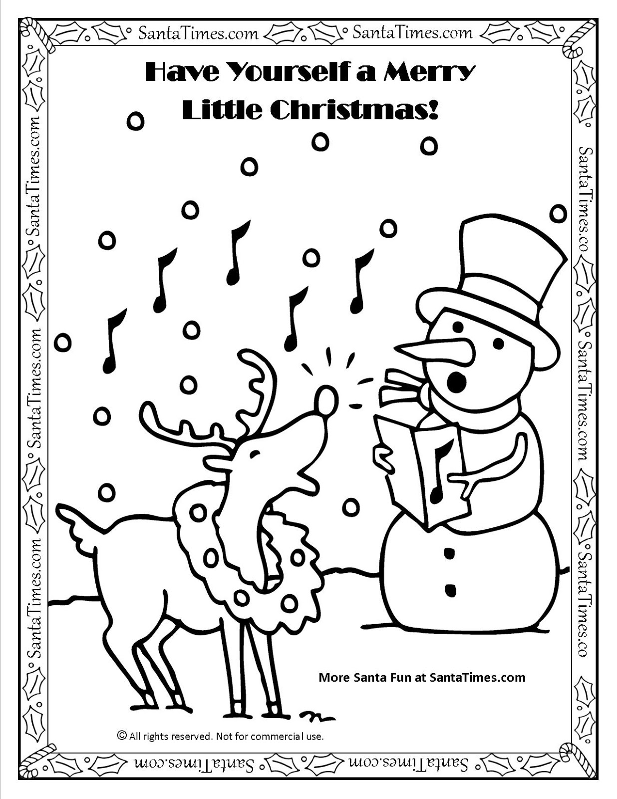 Christmas 2015 Pictures To Draw | Christmas Pictures To Colouring ...