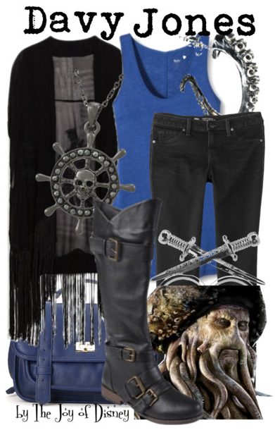 Davy Jones Outfit, Pirates of the Caribbean Fashion
