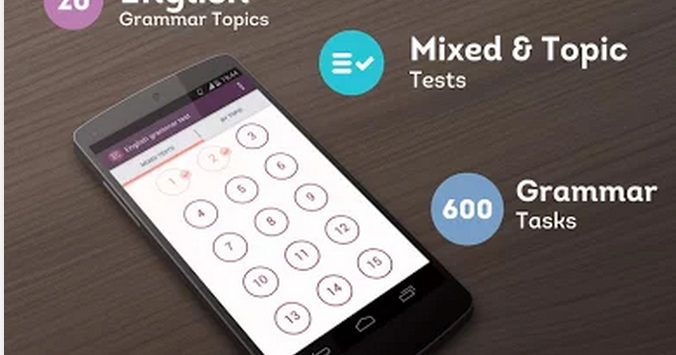 Some Excellent Android Apps for Learning English Grammar