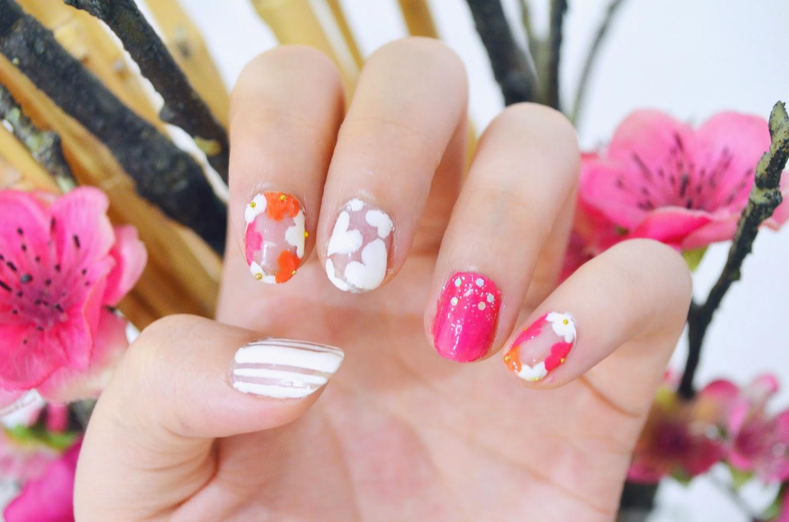 BeautyHaulics...........: MakeupManiMonday II: Spring in Full Bloom ✿