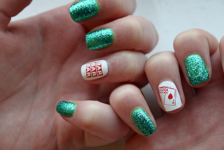 The Beauty Series Uk Beauty Blog Casino Themed Nail Art