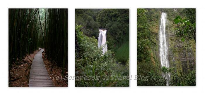 hawaii maui haleakala waimoku waterfalls trail