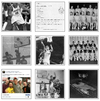 Bert's basketball photo gallery