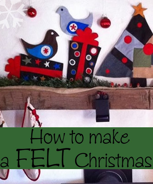felt christmas