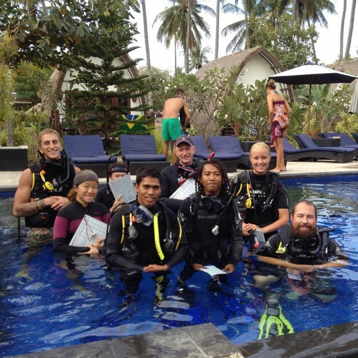 PADI IDC August 2014, Gili Air, Indonesia