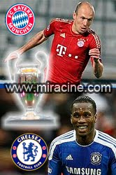 Bayern Munich vs Chelsea 2012