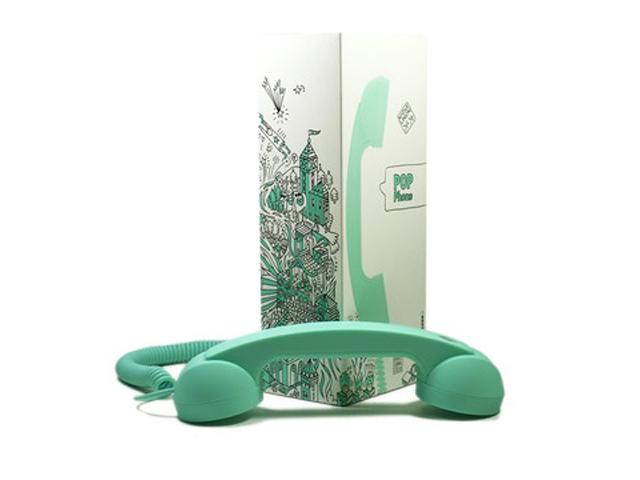 telephone vert d'eau