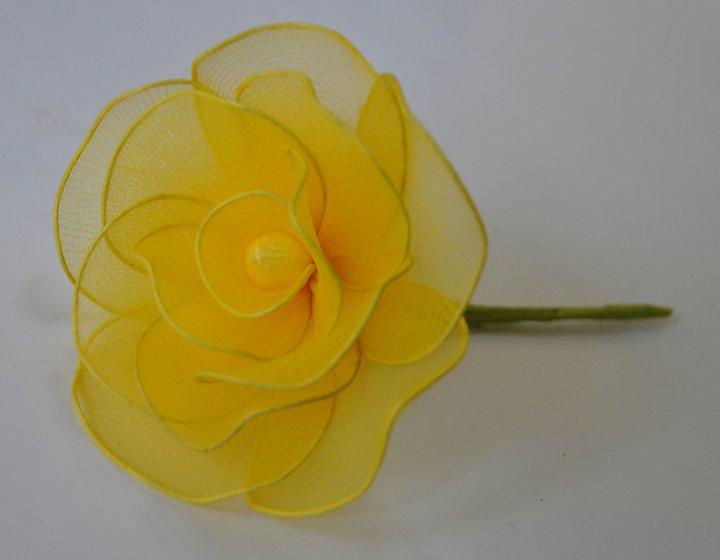 Khoảng lặng _()_: Hướng dẫn làm hoa hồng bằng vải voan