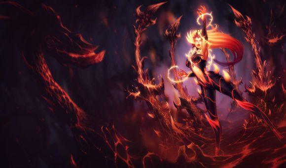 Katie de Souza ilustrações fantasia games mulheres Wildfire Zyra