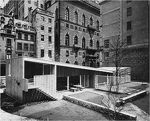 Breuer garden House, MOMA