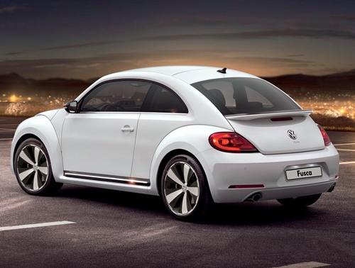 novo Volkswagen Fusca 2013 traseira