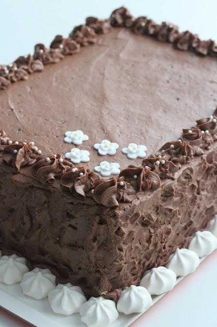 Simppeli suklaakakku
