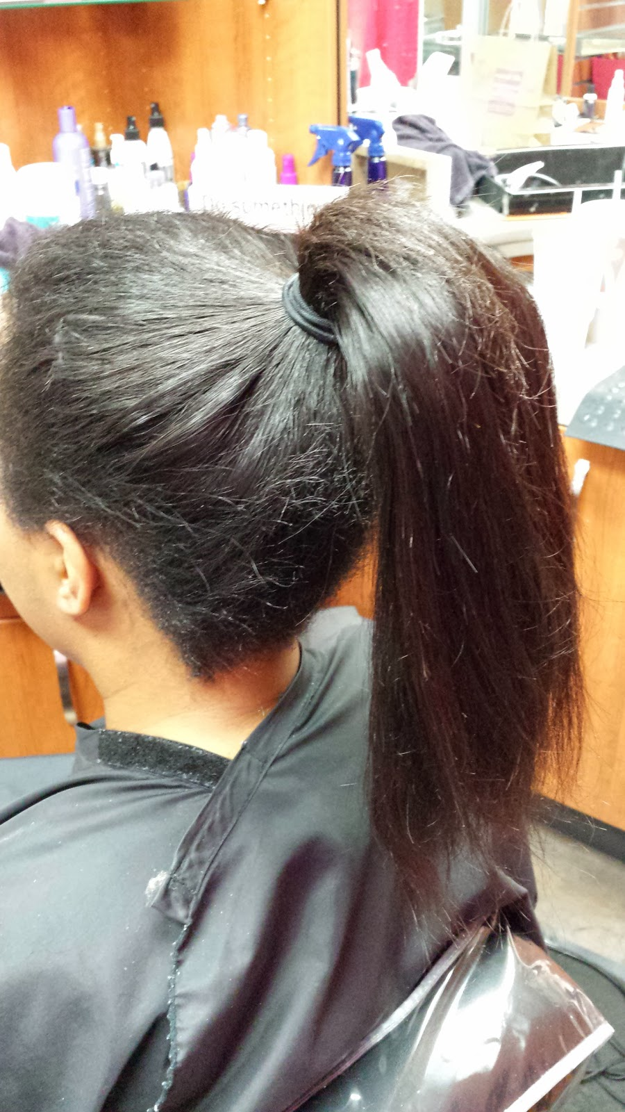 how to set rollers on african hair : Straight Sew In Weave Hairstyles She has brazilian straight,