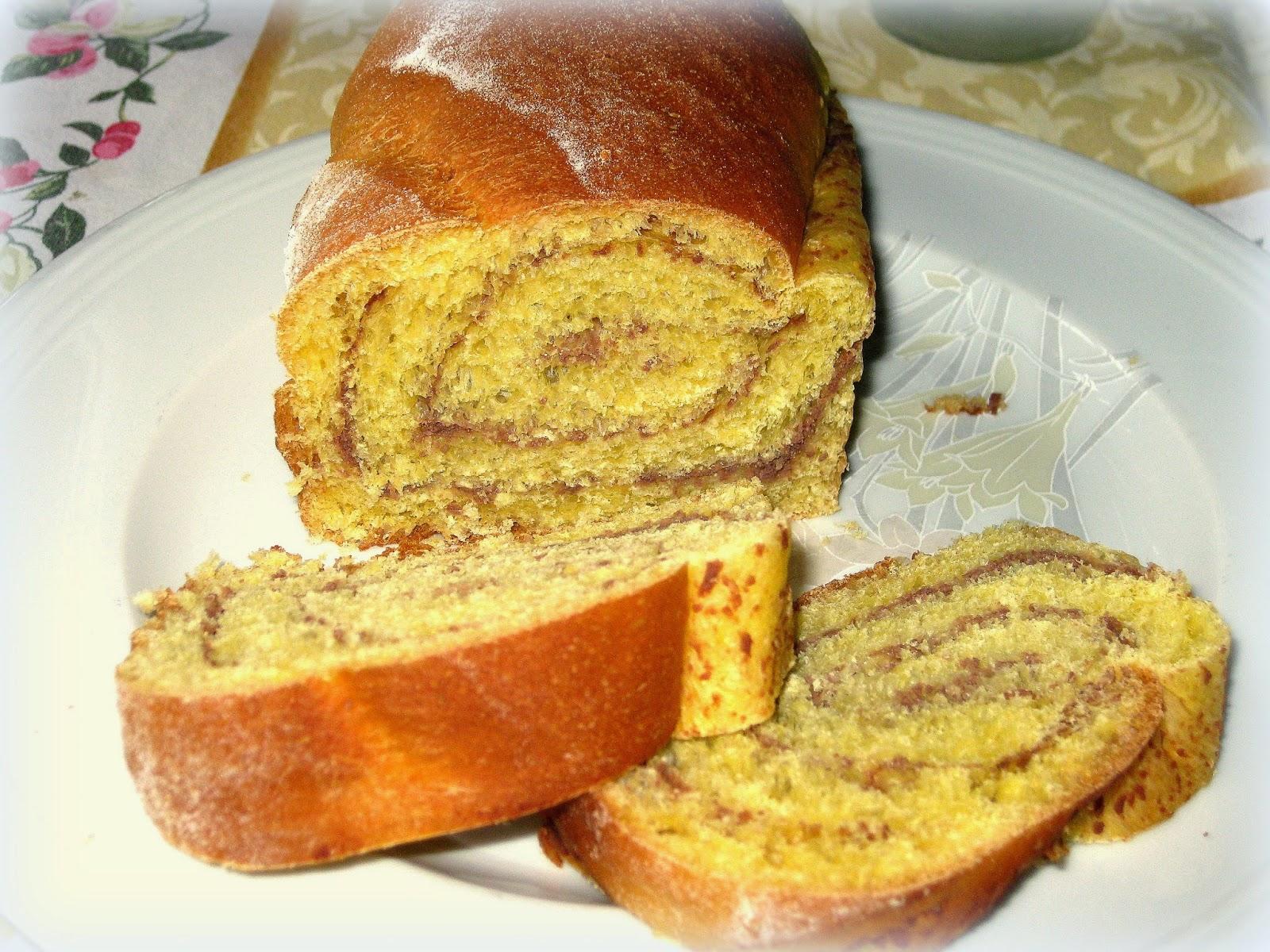 pane aromatizzato al cioccolato