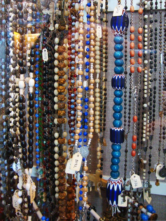 rosaries from the Don Brown collection housed in the Columbia Gorge Museum