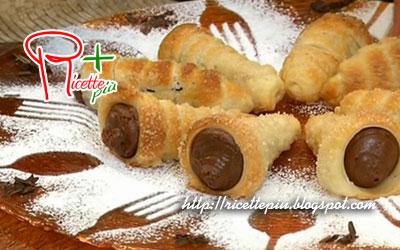 Cannoncini al Cioccolato di Cotto e Mangiato
