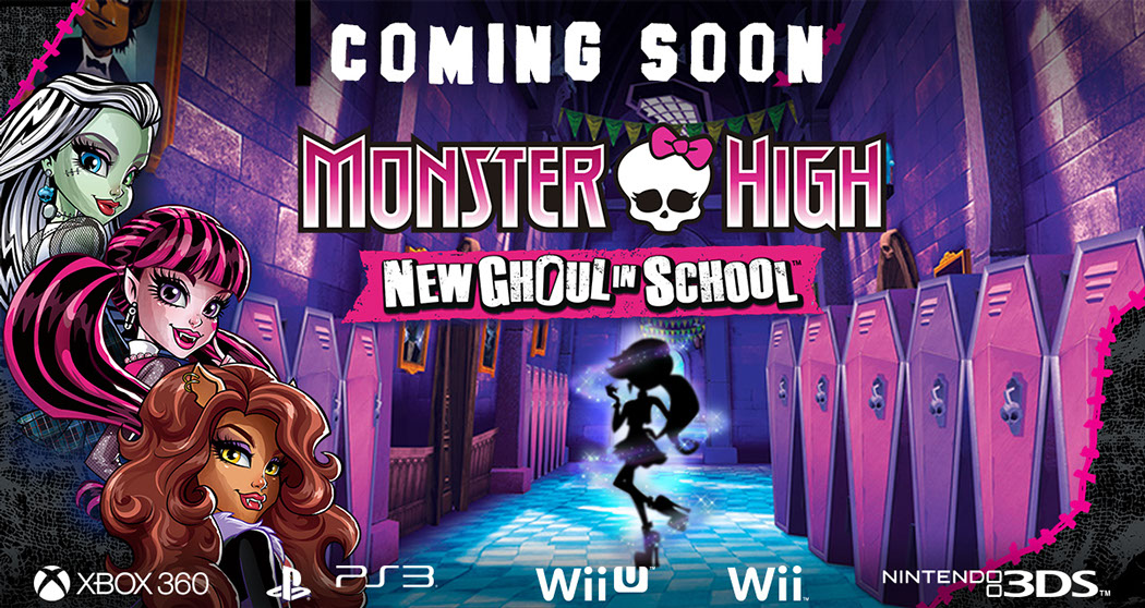 monster high new ghoul in school wii download