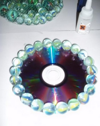 Diciembre 2011 portal de manualidades - Manualidades con discos ...
