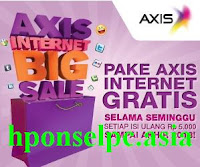 Harga berlangganan internet Axis