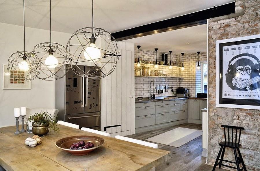 wystrój wnętrz, home decor, wnętrza, mieszkanie, dom, aranżacje, białe wnętrza, jadalnia, kuchnia