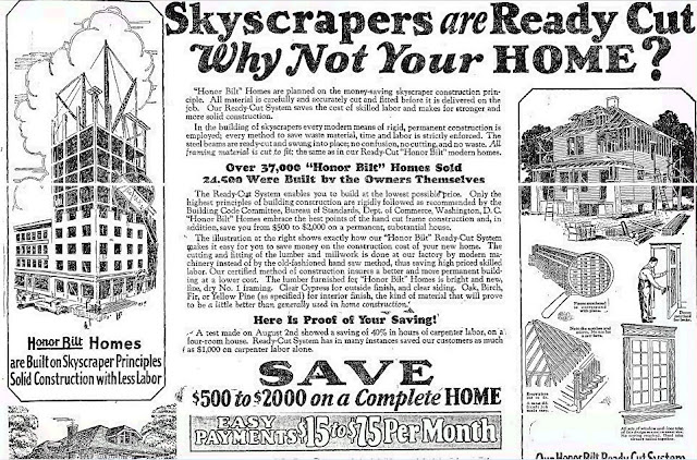 Chicago Tribune ad for Sears homes October 31, 1926