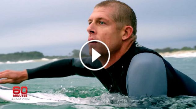 Mick Fanning This Sunday on 60 Minutes