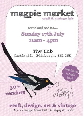 Magpie Market July Flyer