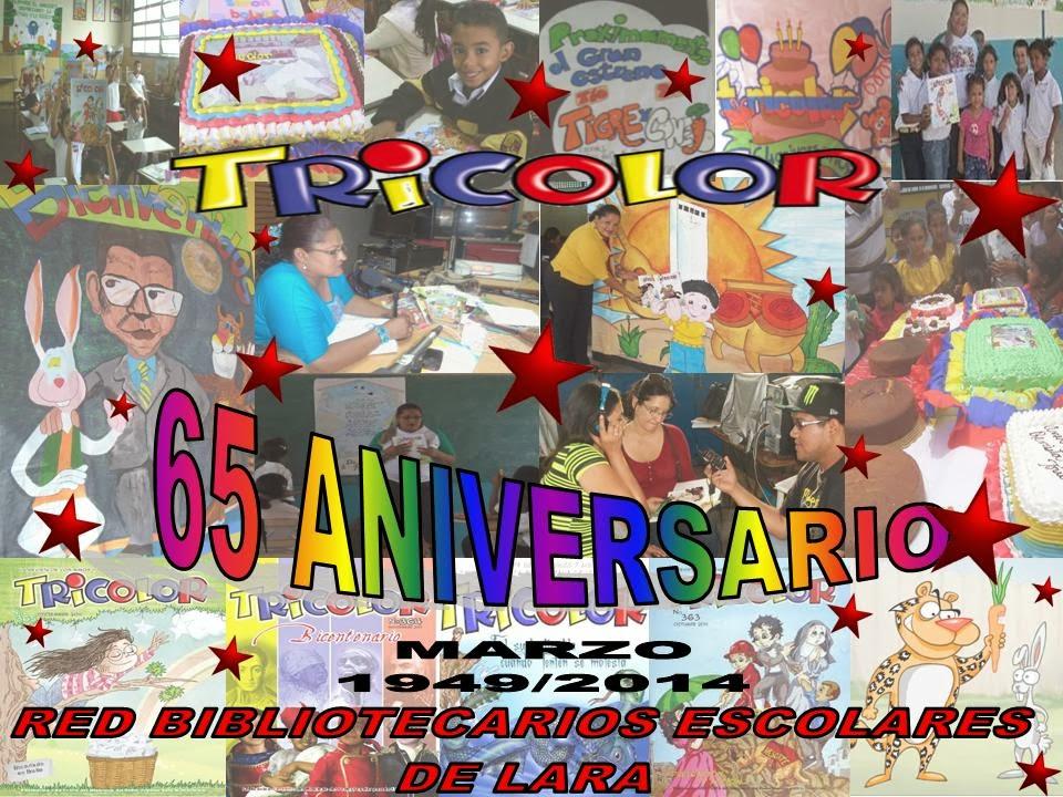 65 ANIVERSARIO REVISTA TRICOLOR