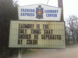 Laundromat Wisdom