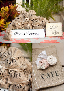 coffee favor orlando wedding