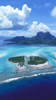 download Amazing Island iPhone 5 HD Wallpaper