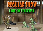 Regular Show Line Of Defense