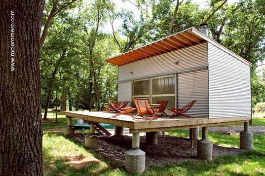 Arquitectura de Casas: Cabaña en campamento de pescadores en ...