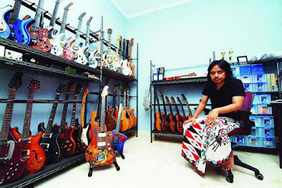 Museum Gitar Dewa Budjana
