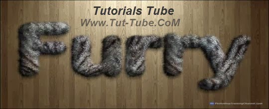 Realistic Furry Text Effect in Photoshop CS6 Tutorial