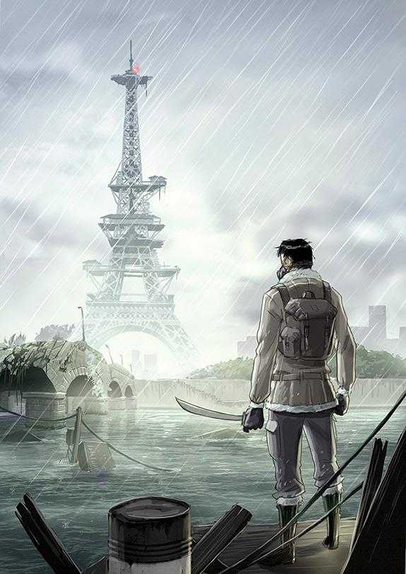 Paris Post Apo Ga 233 Tan Georges