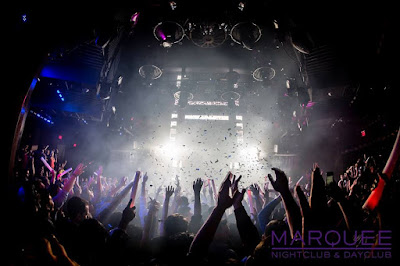 CryoFX.com featured at Marquee Nightclub in Las Vegas Nevada
