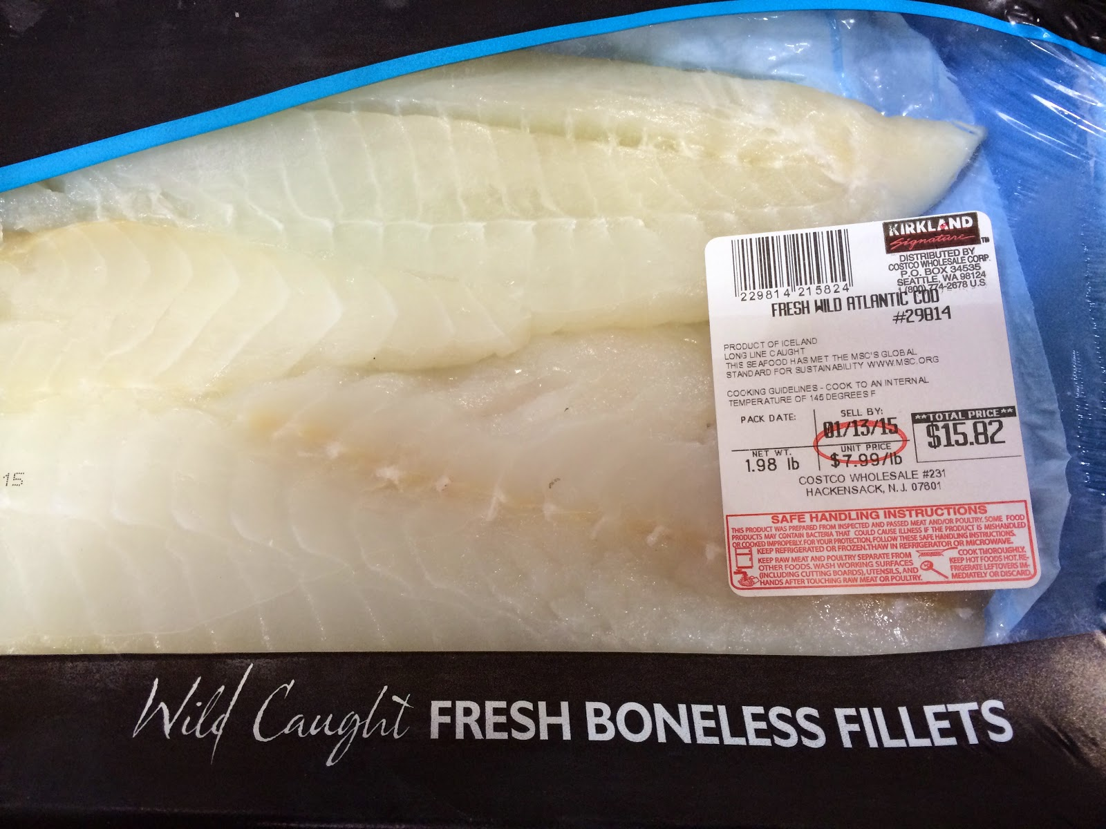 do you really know what you re eating roasted salsa verde is a the boneless skinless fillets of fresh cod are available at costco whole in hackensack for only 7 99 a pound
