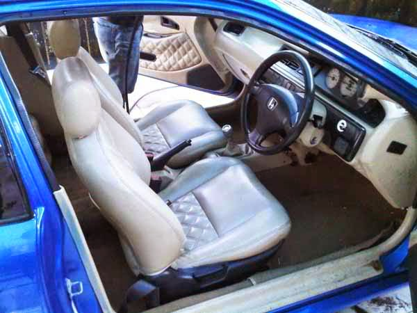 Modifikasi Interior Honda Civic Estilo