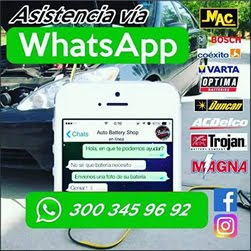 Asistencia via Whatsapp