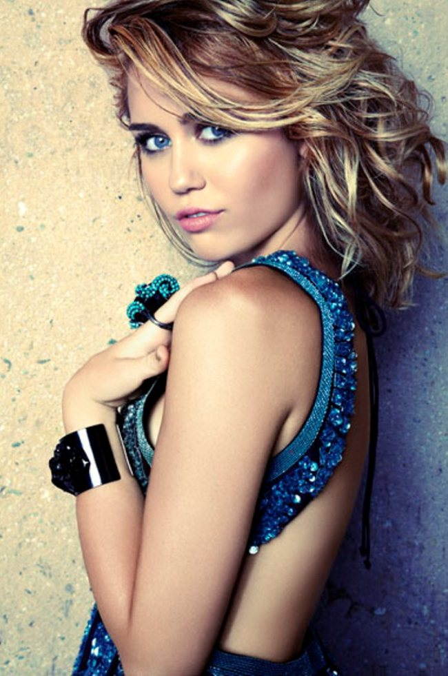 Miley Cyrus for Marie Claire US, September 2012