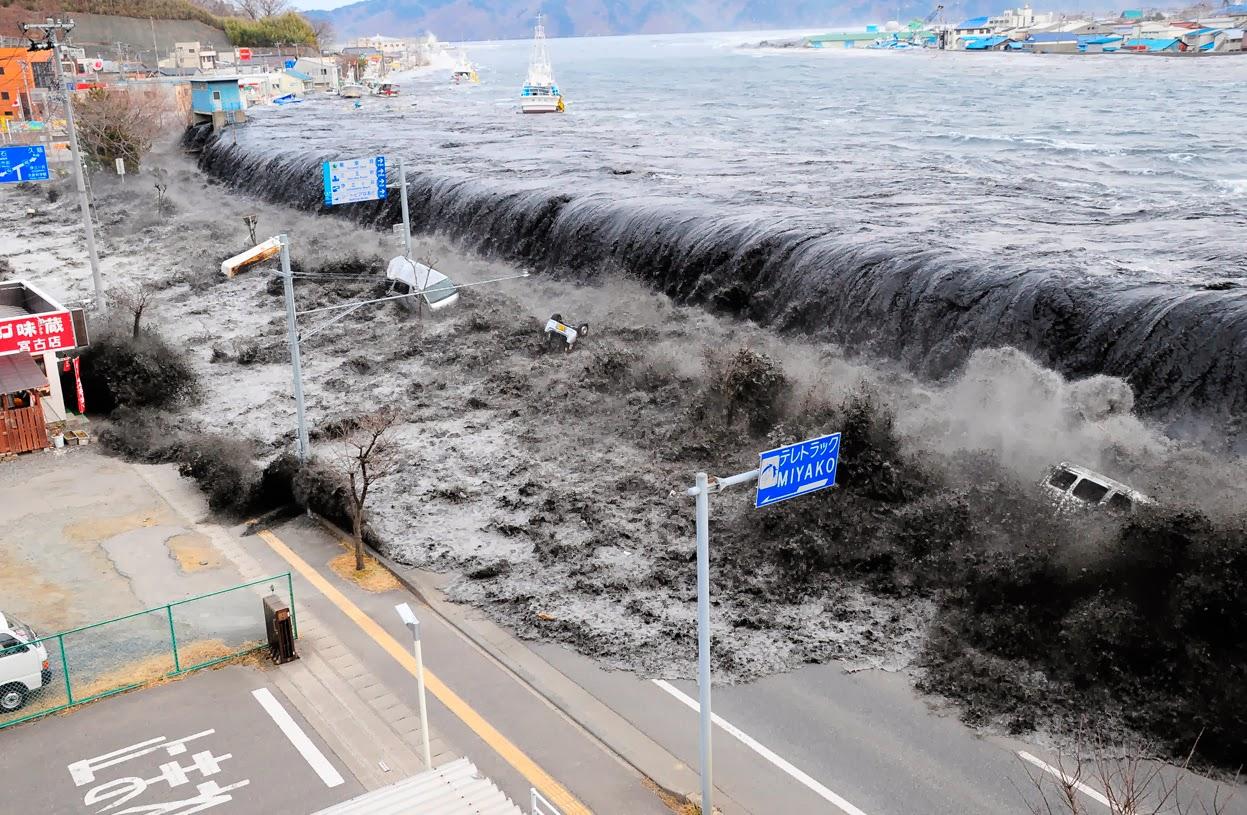 El terremoto Japón de M9.0