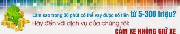 Dịch vụ vay tiền bằng cavet xe Song Hùng