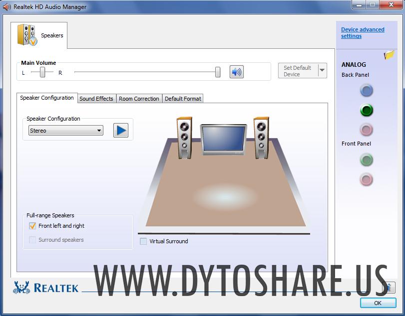 Realtek Alc887 8 Channel High Definition Audio Codec Driver Download