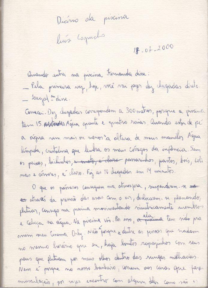 Diário da Piscina