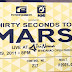 My 30 Seconds to Mars Experience
