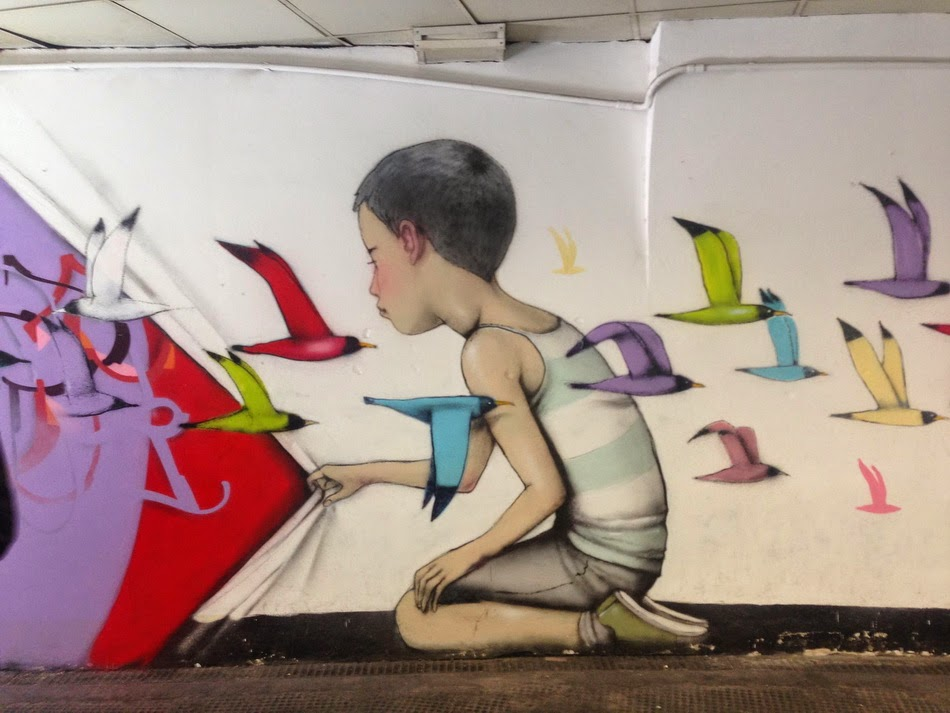 Seth Globepainter is currently in Rome, Italy where he just finished this new series of pieces in Rome, Italy.