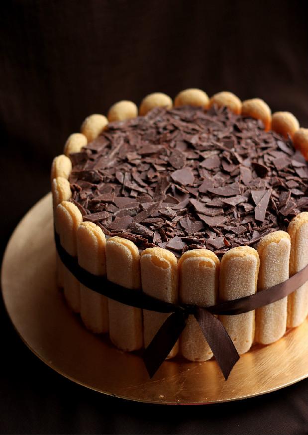 Sake Chocolate Cake