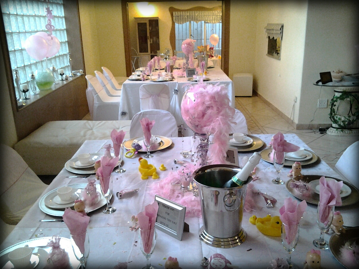 baby shower setup and management