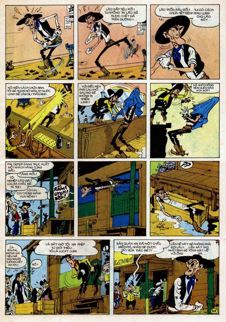 TruyenHay.Com - Ảnh 25 - Lucky Luke Tập 25 - Nhện Chân Dài